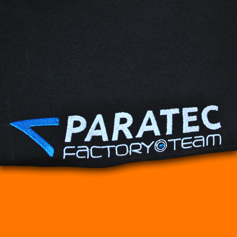 Paratec embroidery