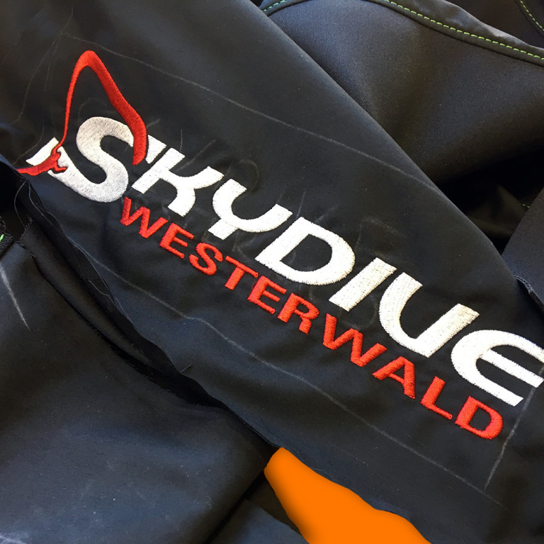 Embroidery Skydive Westerwald